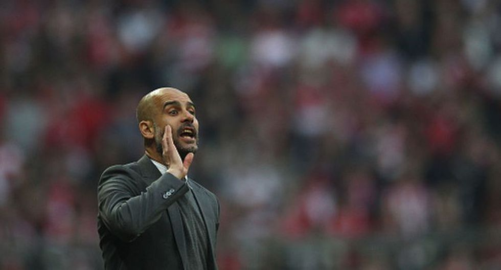 Guardiola dirigió al Bayern Munich en la temporada 2014/15 hasta la 16/17. (Getty)