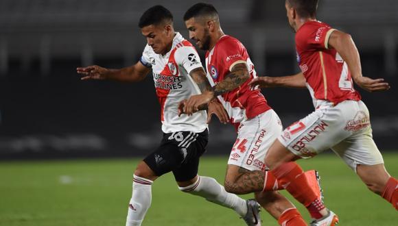 River 0-1 Argentinos: ver goles, resumen, mejores jugadas y estadísticas  del partido por la fecha 4 de la Copa de la Liga Profesional en el Estadio  Monumental de Núñez   FUTBOL-INTERNACIONAL   DEPOR