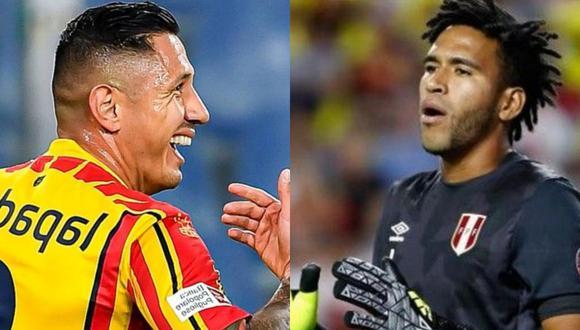 Pedro Gallese y Lapadula bromearon en redes sociales. (Foto: GEC)