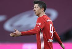 Robert Lewandowski se perderá los partidos contra PSG en la Champions League