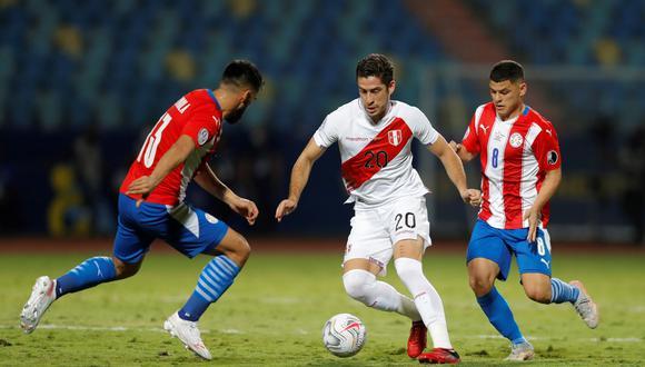 Santiago Ormeño fue llamado por primera vez para disputar las Eliminatorias Qatar con Perú. (Foto: EFE)