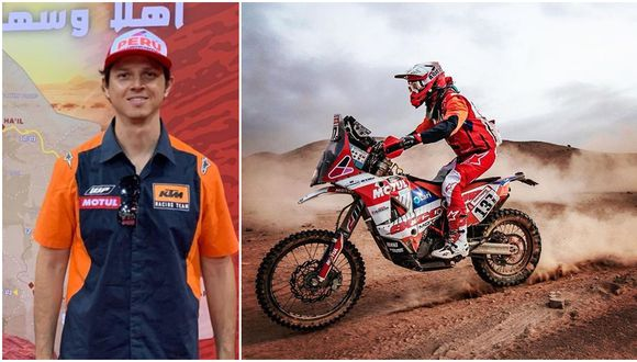 César Pardo estaba compitiendo por segunda vez en el Dakar. (Instagram)