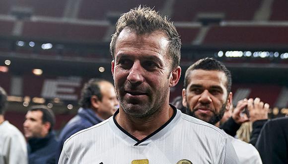 Alessandro Del Piero se retiró en el 2014 en el fútbol de la India. (Getty Images)