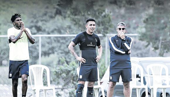 Alianza Lima entrenará el sábado por la mañana en Matute y a las 3:16 p.m. viaja a Ayacucho. El plantel regresa el lunes a las 6:00 a.m. (GEC)