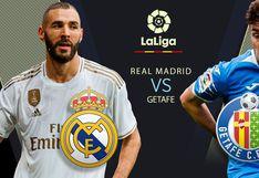 HOY vía DirecTV Real Madrid vs Getafe EN VIVO: juegan EN DIRECTO en el Di Stéfano por la fecha 33 de LaLiga Santander