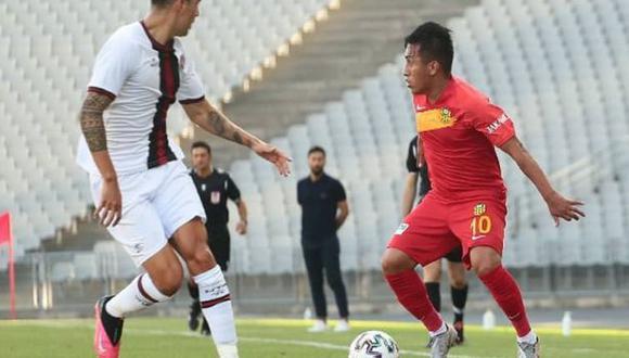 El peruano jugó todo el partido por la Superliga de Turquía. (Foto: Yeni Malatyaspor)