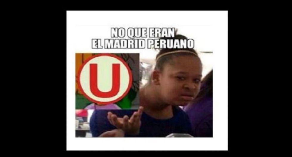 Los mejores memes tras la derrota de Universitario. (Foto: Facebook)