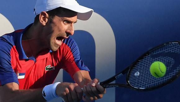 Novak Djokovic renunció a jugar el Masters 1000 de Cincinnati. (AFP)