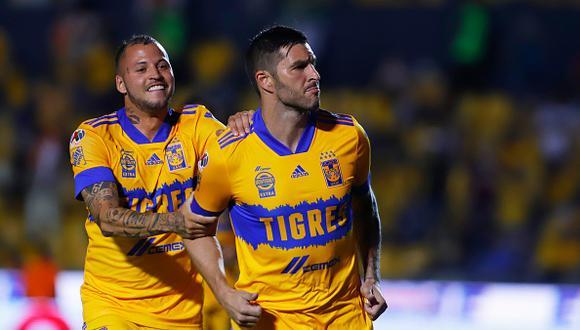 Tigres vs. Monterrey se vieron las caras por la jornada 16 de la Liga MX 2021 este sábado (Foto: Getty Images)