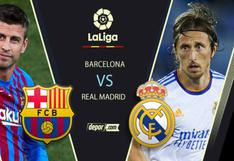 Real Madrid vs. Barcelona EN VIVO vía STAR+ y ESPN: transmisión por fecha 10 de LaLiga Santander