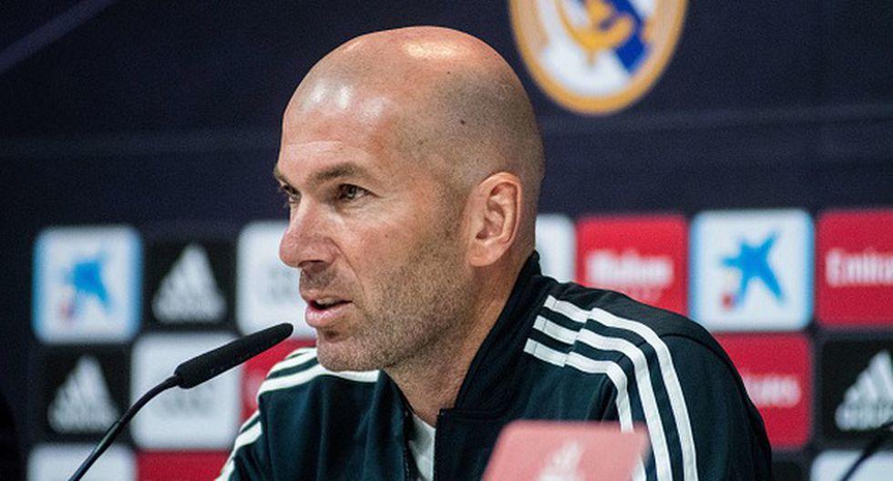 Zinedine Zidane haría jugar a su hijo Luca ante el Huesca. (Foto: Getty)