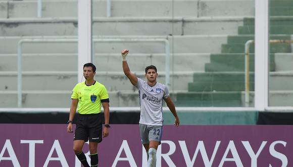 Facundo Barceló marcó el gol del triunfo de Emelec frente a Talleres en Argentina. (Foto: Agencias)