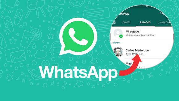 ¿Quieres tener los Estados de tus amigos de WhatsApp? Esta es la forma como puedes descargarlos. (Foto: WhatsApp)