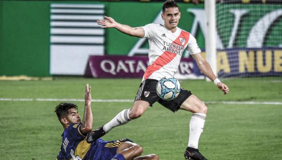 Carlos Zambrano disputó su primer superclásico en Argentina. (Foto: ESPN)