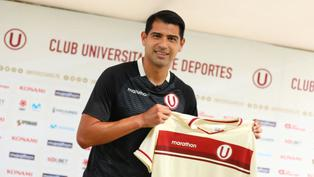 Universitario presenta a delantero Enzo Gutiérrez