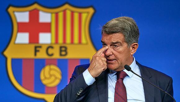 Joan Laporta vive en el Barcelona su segunda etapa como presidente. (Getty)