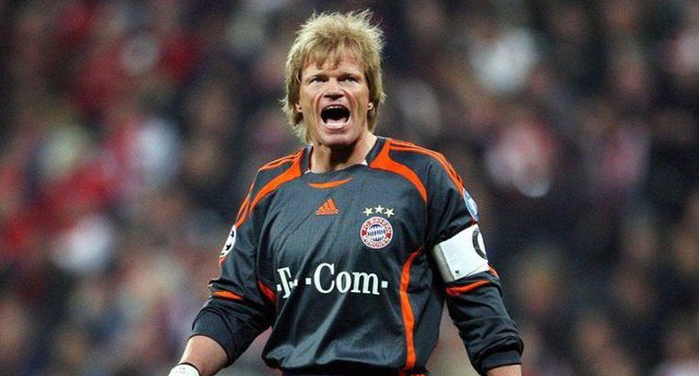 Oliver Kahn lo ganó casi todo con la camiseta del Bayern Munich. (Foto: Difusión)