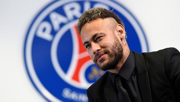 Neymar renovó contrato con el PSG hasta 2025. (Getty)