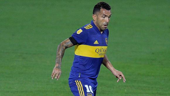 """""""Acá estoy de nuevo y trataré de hacer todo lo posible para a Boca le vaya bien"""". enfatizó Tevez. (Foto: AFP)"""
