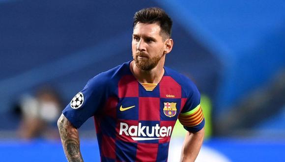 Messi no llegaría a Manchester City. (Foto: Agencias)