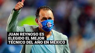 Juan Reynoso fue escogido el mejor entrenador del año de la Liga MX