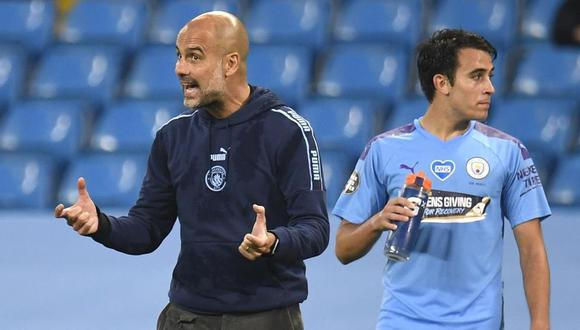 Eric García tiene 19 años y juega como central en el Manchester City. (AP)