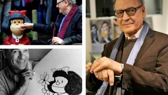 """Joaquín Salvador Lavado saltó a la fama gracias a """"Mafalda"""", las vivencias de una pequeña niña que dio la vuelta al mundo. (Foto: Instagram / @mafaldadigital)."""