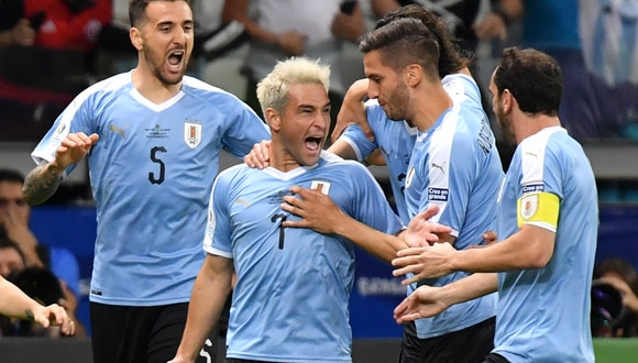 Uruguay volvió a renacer tras golear a Ecuador por la Copa América. | AFP