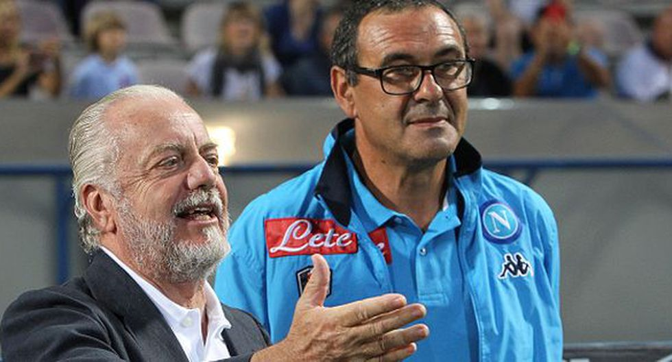 Aurelio De Laurentiis es el presidente del Napoli. Ha sido muy incisivo en el fichaje de James, pero iría por Malcom. (Getty)