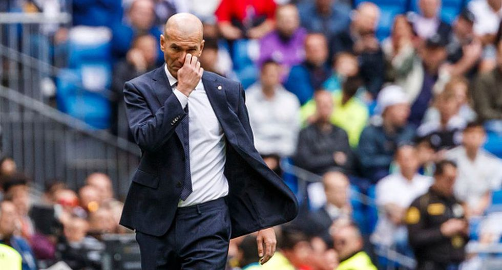 Zinedine Zidane cumple su segunda etapa en el Real Madrid. (Getty)