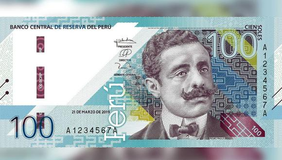 El billete con la imagen de Pedro Paulet forma parte de la nueva familia de billetes que destaca a personajes importantes de las ciencias, artes y letras en nuestro país. (Foto: BCR)