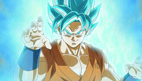 "Dragon Ball Super: artista adapta el diseño de Goku Super Saiyan Blue al estilo de ""Dragon Ball Z"""