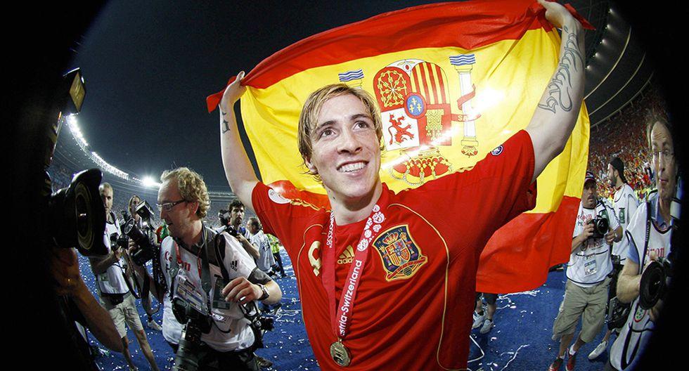 Fernando Torres, podio 2008. (AP)
