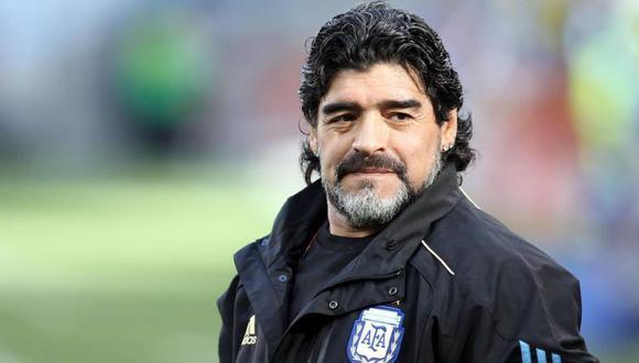 Diego Armando Maradona murió a los 60 años de edad tras un paro cardiorrespiratorio. (Foto: EFE)