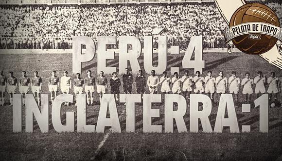 La tarde que la Selección Peruana goleó a Inglaterra
