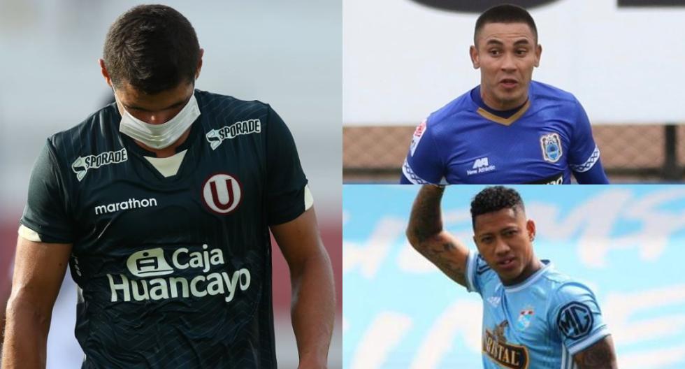Los futbolistas que rompieron los protocolos. (Foto: Liga 1)