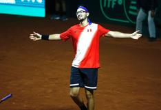 ¡Sí se pudo! Perú derrotó a Bosnia y Herzegovina por 3-2 en el Grupo Mundial I de la Copa Davis