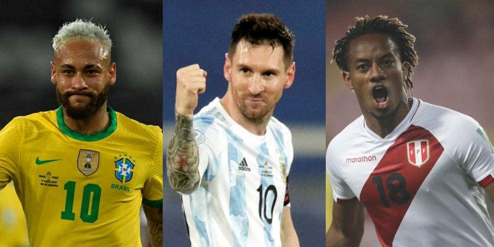 Los goleadores de la fase de grupos de la Copa América 2021. (Foto: Agencias)