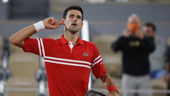 Novak Djokovic sale en busca de su Grand Slam 19 de su carrera, (Foto: Reuters)