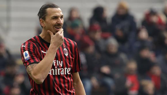 Zlatan Ibrahimovic tiene nueve goles esta temporada con el AC Milan. (Foto: AP)