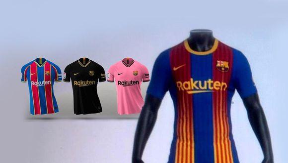 Barcelona cambia de camisetas de visita para la próxima temporada. (Foto: FC Sport)