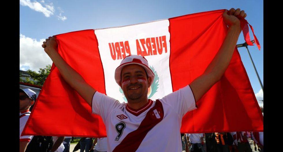 La fiesta en los exteriores del Maracaná previo a la final de la Copa América. (Foto: Daniel Apuy)