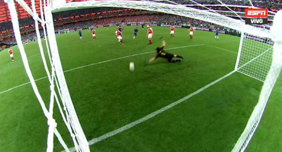 Chelsea vs Arsenal: este fue el gol de Pedro para el 2-0 de los 'blues'. (Video: ESPN 2)