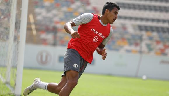 Alex Valera afirmó estar preparado para del el '9' de Universitario. (Foto: Prensa U)