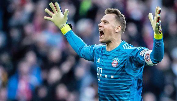 Manuel Neuer llegó al Bayern Munich desde el Schalke 04. (Getty Images)