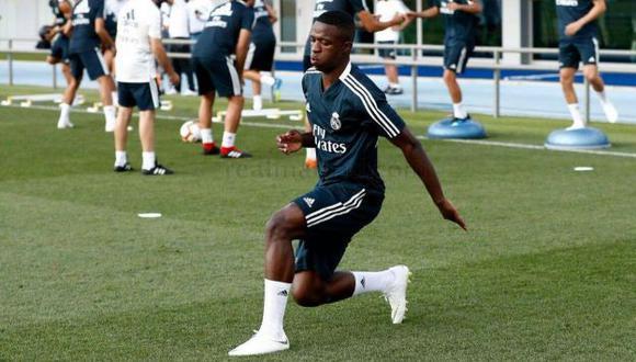 Vinicius fue fichado en más de 40 millones de euros. (Foto: Real Madrid)