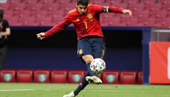 Álvaro Morata destacó el trabajo(Foto: EFE)