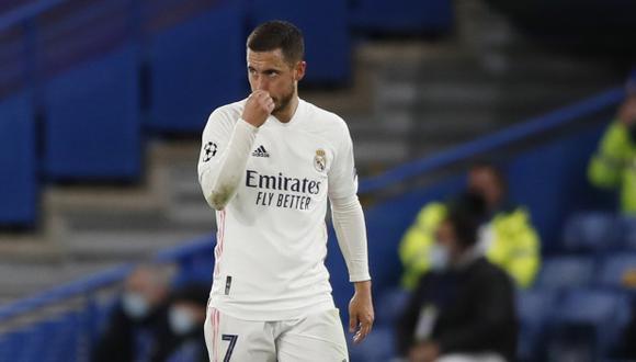 Eden Hazard tiene contrato con el Real Madrid hasta el 2024. (Foto: AP)