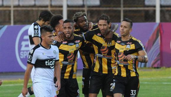 Táchira vs. Olimpia se midieron por la Copa Libertadores 2021. (Foto: Conmebol)
