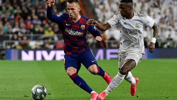 Real Madrid juega contra el Barcelona en Valdebebas por la fecha 30 de LaLiga Santander. Aquí, los canales de televisión y aplicaciones móviles para ver el partido de fútbol. (Foto: AFP)
